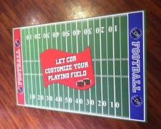 Floor Graphics and Football Fun!
