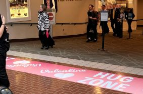 Featured Graphic – Floor Graphic for Savannah/Hilton Head International Airport